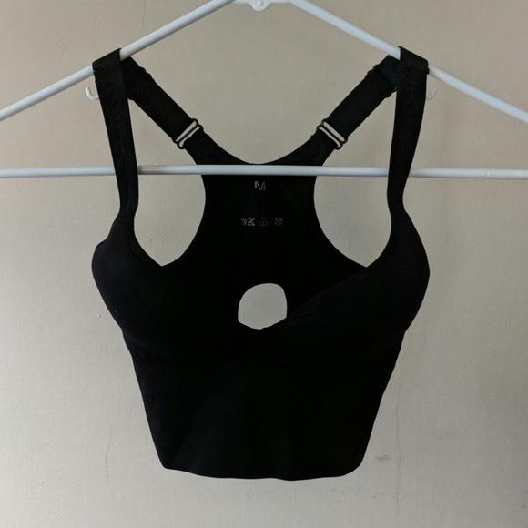 860ff07686 SHEIN Intimates & Sleepwear   Black Sports Or Push Up Bra M   Poshmark
